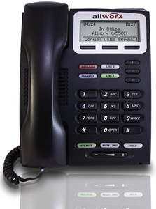 IP phone, allworx, business phone system, voip,