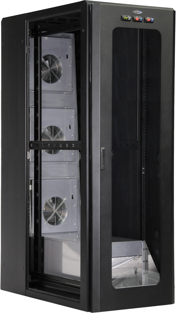 Telcom Amp Data Introduces Revolutionary Water Cooled Rack