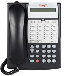 Avaya Partner 18D Series 2 Black Phone